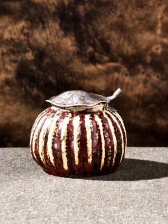 Covered Gourd