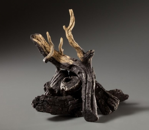 Charred Log Pile Teapot