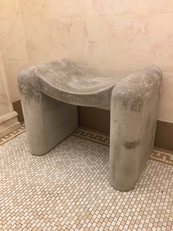 Concrete Soft Stool