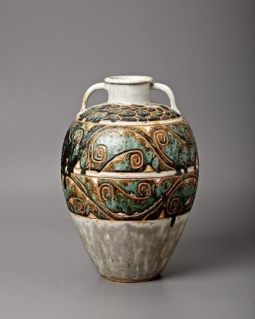 Monumental Waves Vase