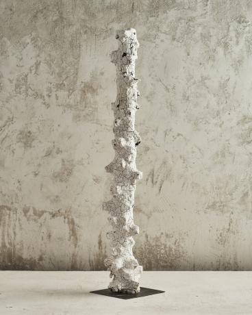 White Crumbling Pillar