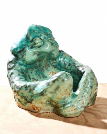 Seated Frog Bowl