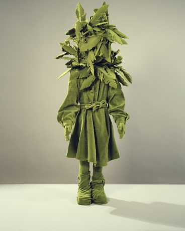Mossgirl With Dress