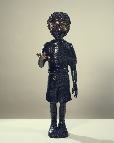 Boy With Gold
