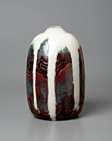 Japonist Landscape Vase