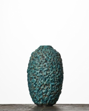 Stretch Turquoise Moonjar #1895
