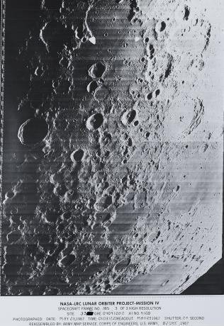 Spacecraft Frame No. 185