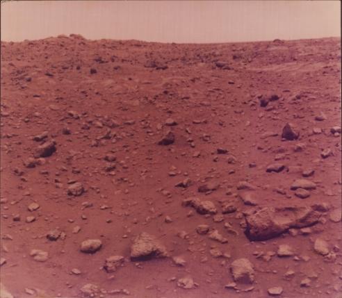 First Colour Photo Taken on Mars