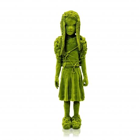 Moss Girl with Cauliflower Shoulder Pads