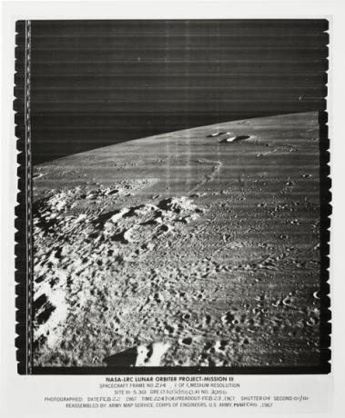 Oceanus Procellarum and Cavalerius Hills on the Moon