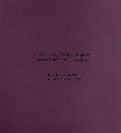 Rediscovering the Portfolio Prints of Gustav Klimt and Egon Schiele