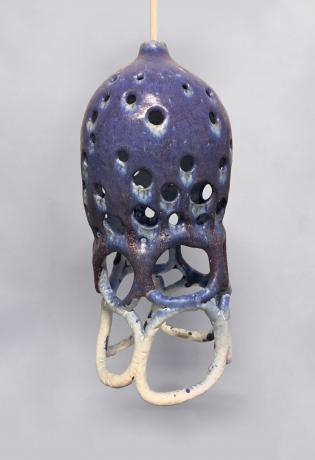 Indigo Lamp