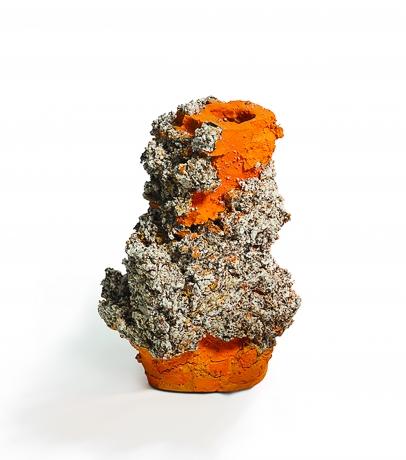 Orange Raining Stone