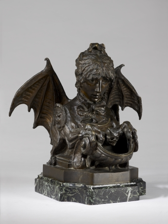 Self Portrait as a Sphinx (Fantastical Inkwell)