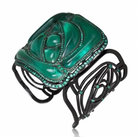 Square Rose Bracelet (Green)