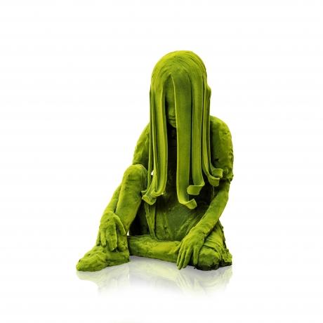 Sitting Moss Girl