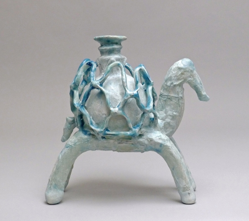 Animal with Cage Cup (Blue)