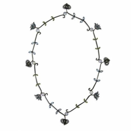 Tulip Pomegranate Necklace