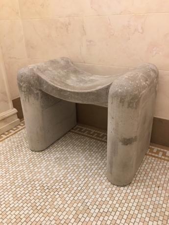 Concrete Soft Stool