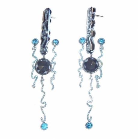 Four Zig Zag Earrings