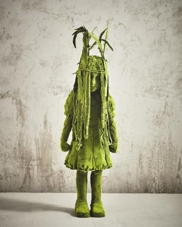 Standing Moss Shaman Girl