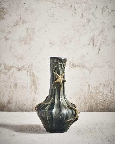 Green Brtille Starfish Vase