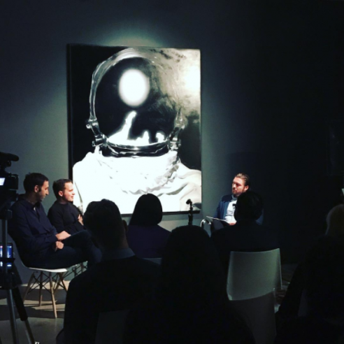 HG Contemporary gallerist Philippe Hoerle-Guggenheim at Panel Discussion