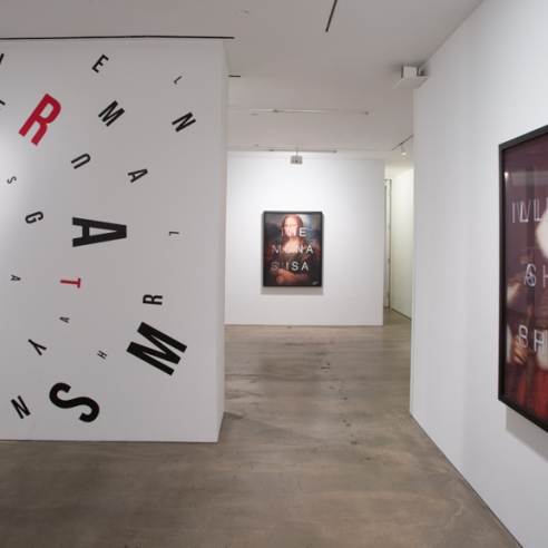 Massimo Agostinelli's Clever Word Play at HG Contemporary