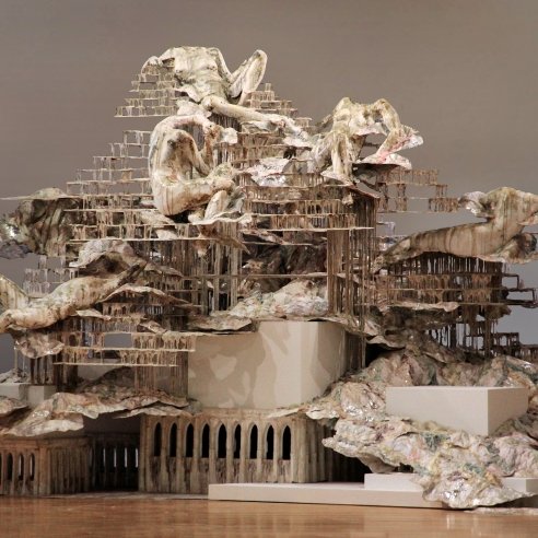 Diana Al-Hadid: Liquid City