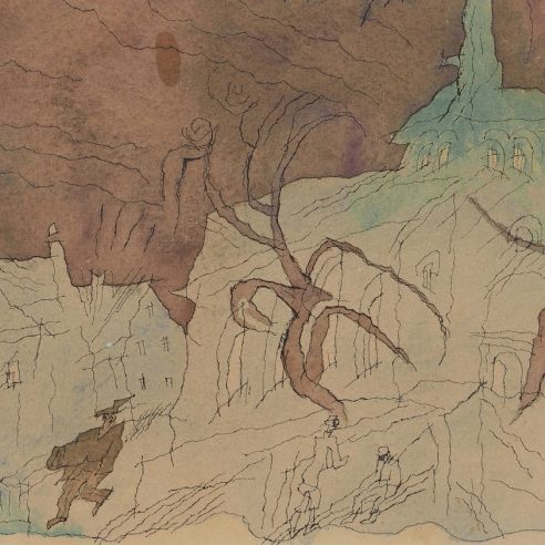 Lyonel Feininger: Watercolors and Drawings