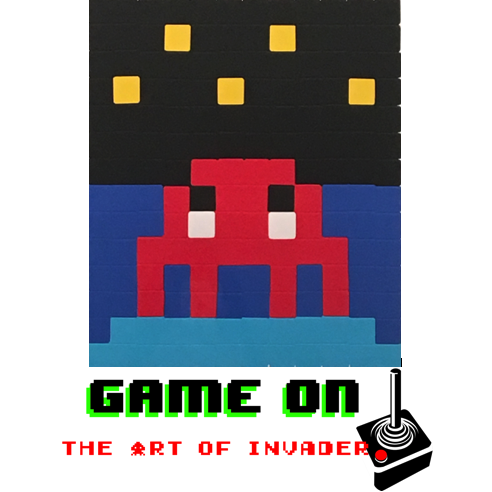 GAME ON! The Art of Invader