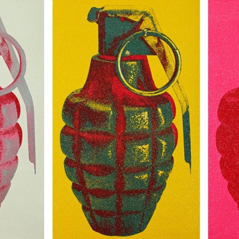 Russell Young: New York Grenades
