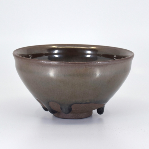 Jianyao 'Hare's-Fur' Glazed Conical Bowl