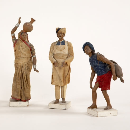 Indian Clay Figures