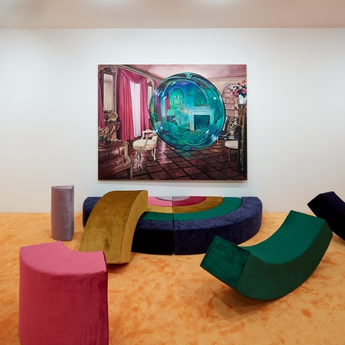 """Review: Ariana Papademetropoulos """"Unweave a Rainbow"""" at Vito Schnabel Projects, New York"""