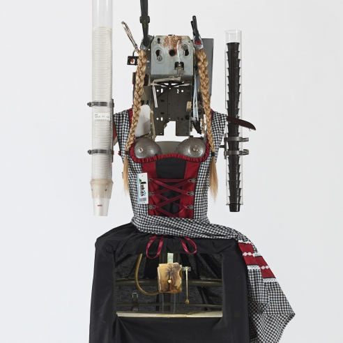 Mixed media sculpture by Tom Sachs
