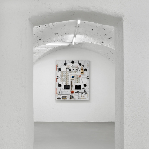 Installation image of The Pack by Tom Sachs