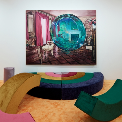 Ariana Papademetropoulos, Unweave a Rainbow, Installation view, 2020