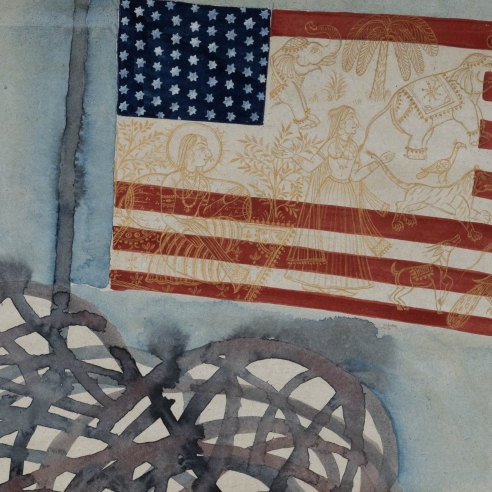 Francesco Clemente, Flag US