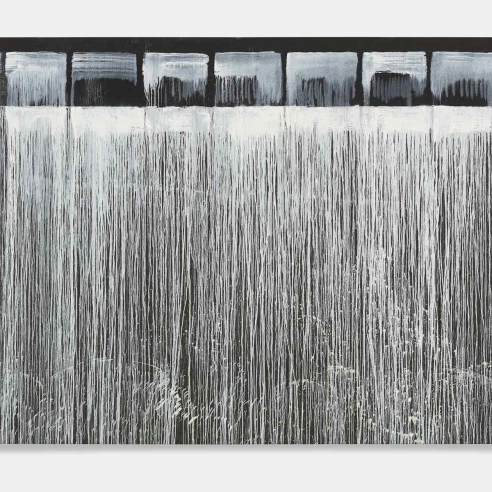 The Flow of Chance: Pat Steir's 'Waterfall' Paintings