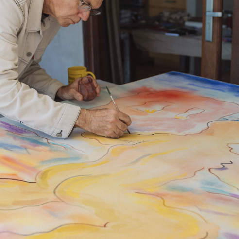 An Auteur's Passion For Painting