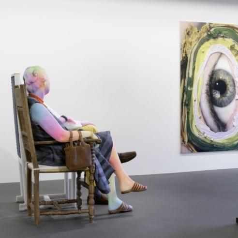 Inside Vito Schnabel's Gallery Opening in St. Moritz
