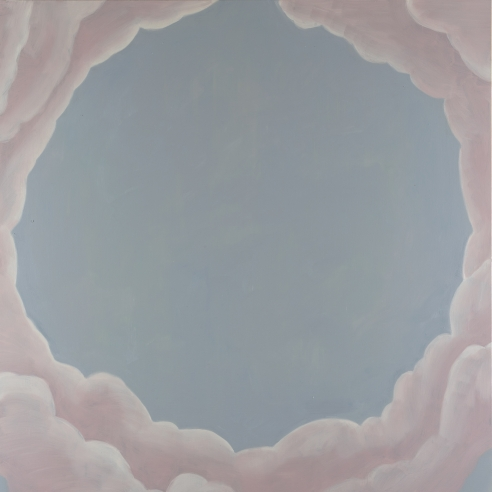 Installation view: Francesco Clemente Clouds