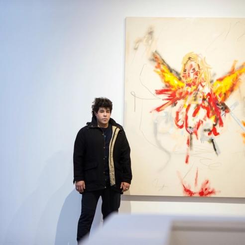 Painter Robert Nava Brings His Angels to Chelsea