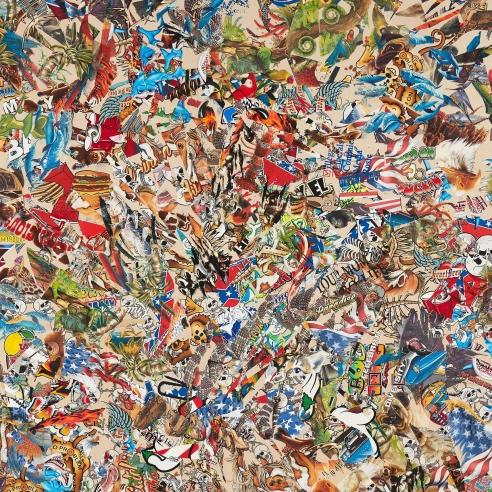Mixed media on canvas by Borna Sammak