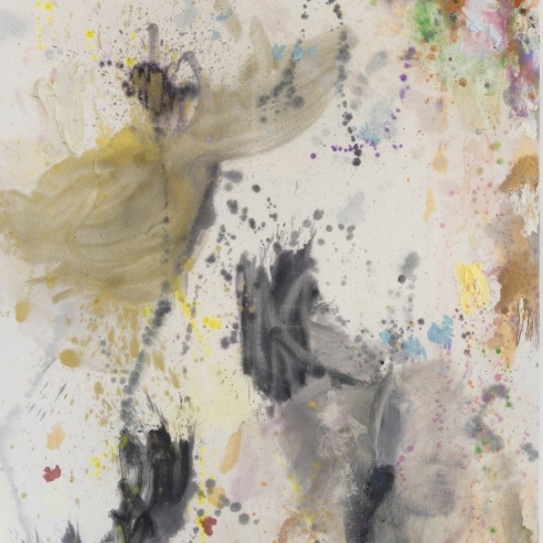 Abstract painting by Caitlin Lonegan