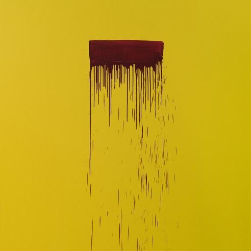 Pat Steir, Color Wheel, 2019, oil on canvas, 274 × 213 cm.