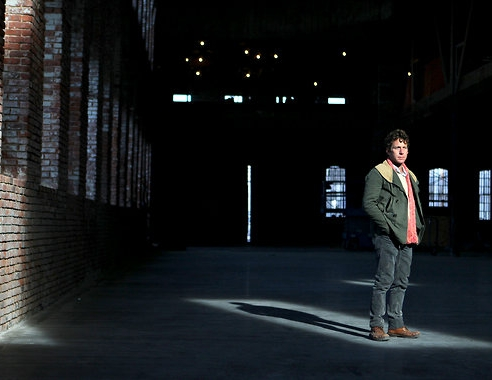 AN ARTIST'S BIG, BIG PLANS FOR RED HOOK