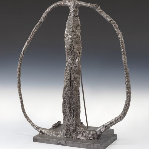 Bronze and silver sculpture by Sterling Ruby