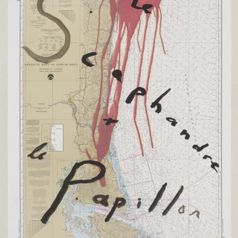 """""""LE SCAPHANDRE ET LE PAPILLON"""" BY JULIAN SCHNABEL, 2007"""